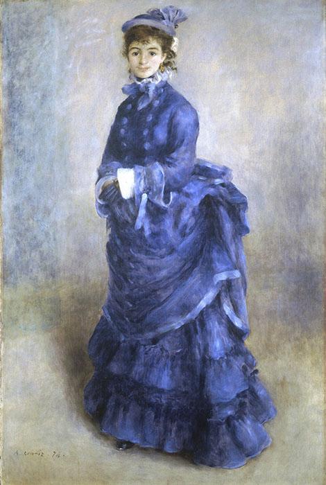 Pierre-Auguste Renoir | A Parisiense (1874)