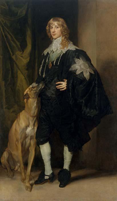Antoon VAN DYCK (1599-1641) James Stuart (1612-1655), Duque de Richmond e Lennox, ca. 1633-1635. Óleo sobre tela, 215.9x127.6. The Metropolitan Museum of Art, Nova York, EUA.