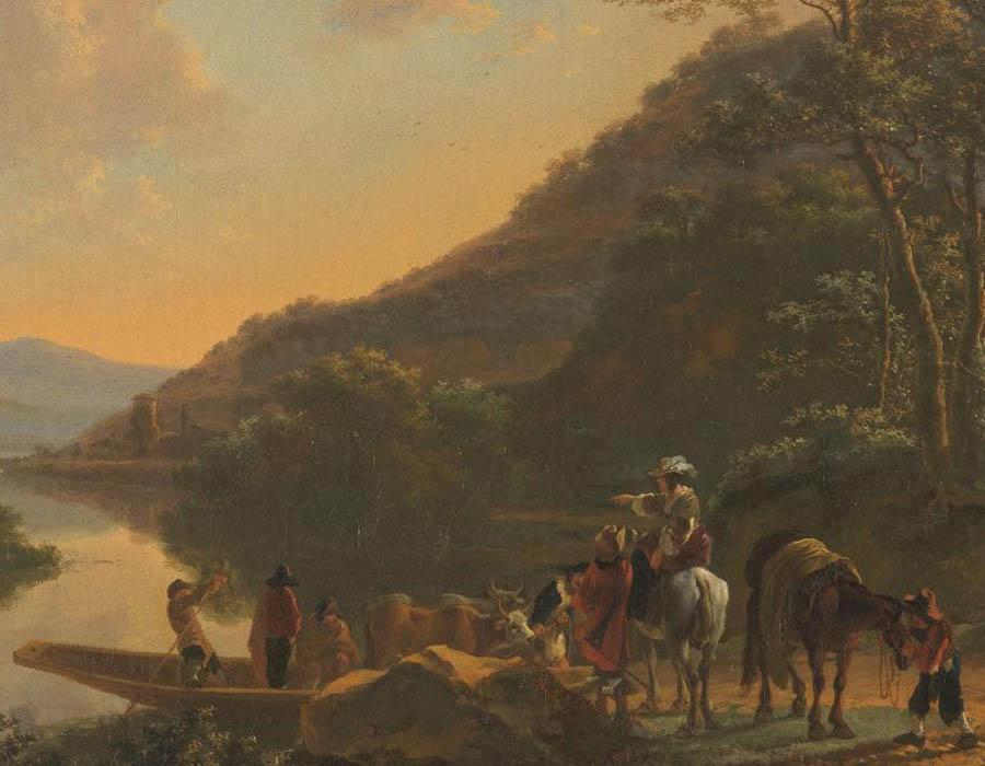 Pintores de paisagens na Holanda do século XVII