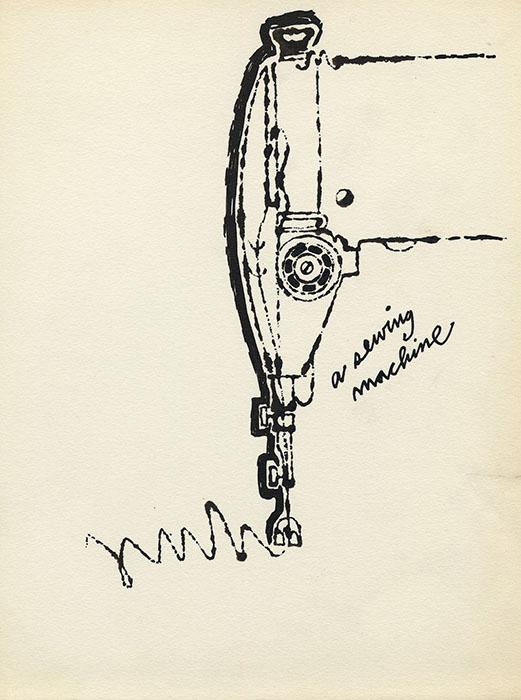 A Sewing Machine, ca.1952