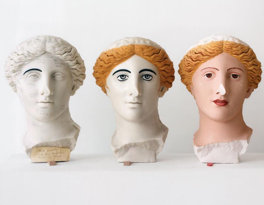 Estátuas gregas e romanas não eram brancas, saiba por quê.