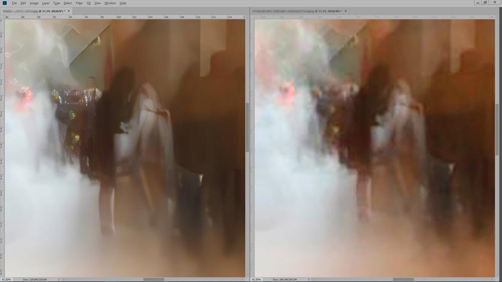 Interpolação; Imagens pequenas podem virar quadros grandes