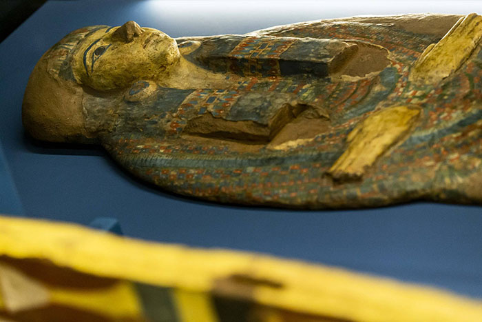 Peça da mostra Egito Antigo e seus mistérios, no CCBB.