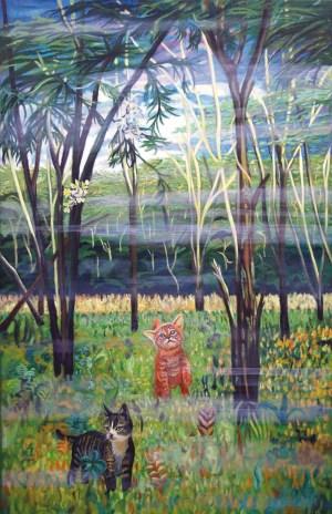 Fernanda Eva - Os gatinhos 180x110 cm