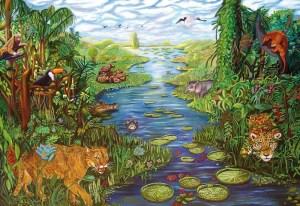 Fernanda Eva - Pantanal 185x270 cm