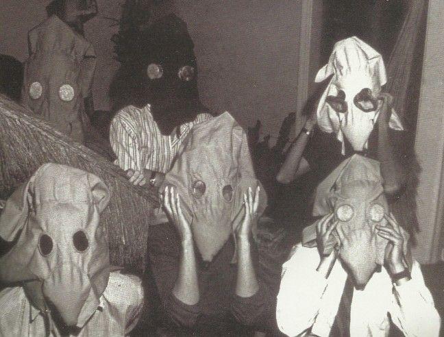 Máscaras Sensoriais, 1967