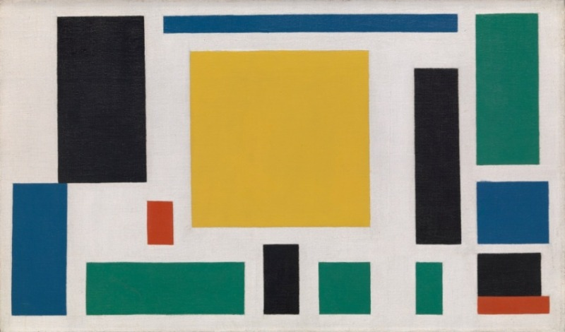 Theo van Doesburg   Composition VIII (The Cow), 1918