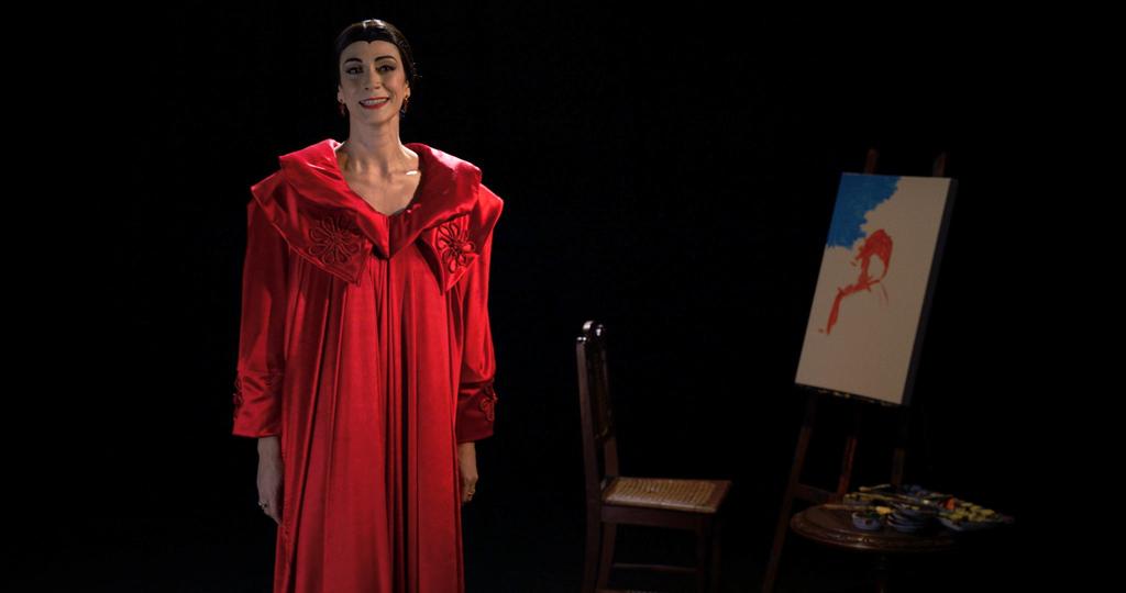Série Modernistas; Victoria Blat interpretando Tarsila do Amaral