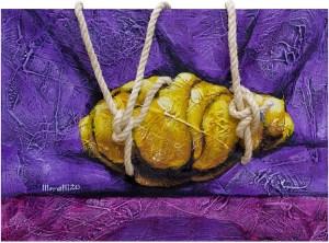 Gilberto Moralli. Pedra Flutuante Amarela
