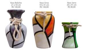 Gilberto Moralli. Vasos