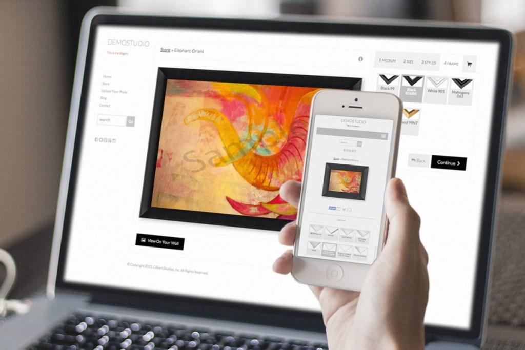sala de exposição virtual online - imagem ilustrativa via banco de imagens