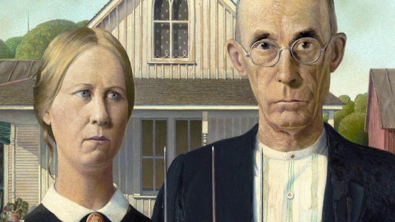 American Gothic, pintura de Grant Wood