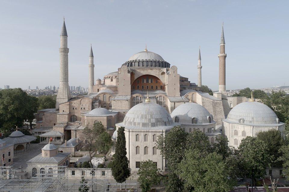 Arte medieval | Hagia Sophia | Basílica de Santa Sofia, em Istambul, Turquia