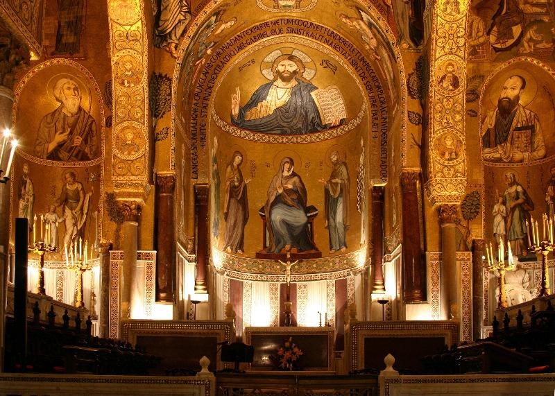 Capela Palatina | Palermo, Itália.