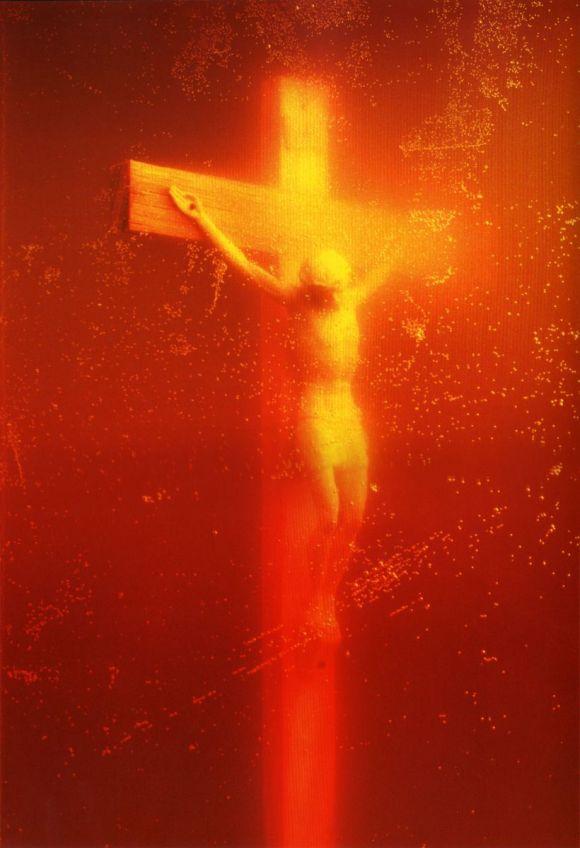 Andres Serrano Piss Christ 1987