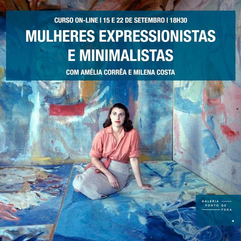 Mulheres no expressionismo abstrato; Galeria Ponto de Fuga
