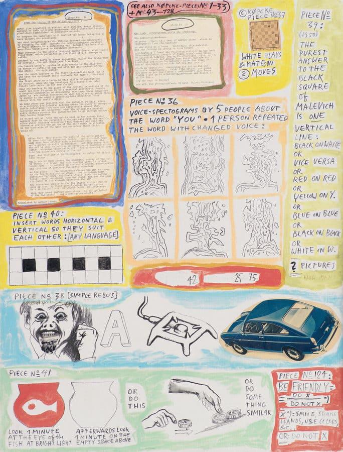 Arthur Köpcke - Reading-Work-Pieces (c.1965)