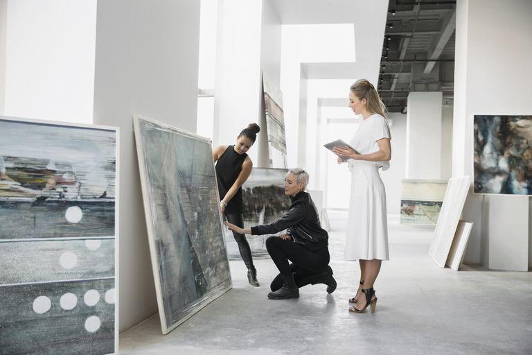 Art Dealers; como ser representado por uma galeria