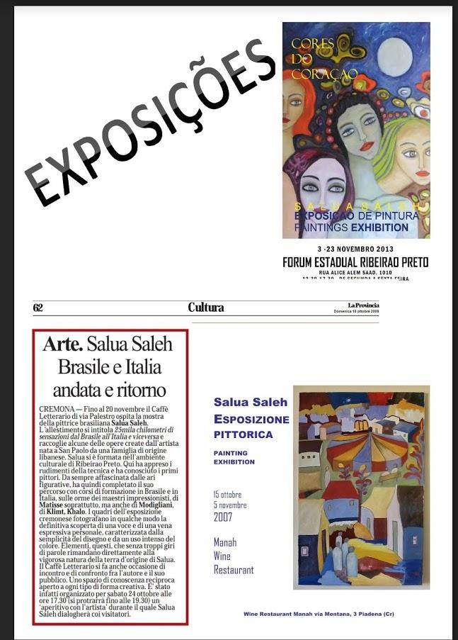 Exposições - Salua Saleh