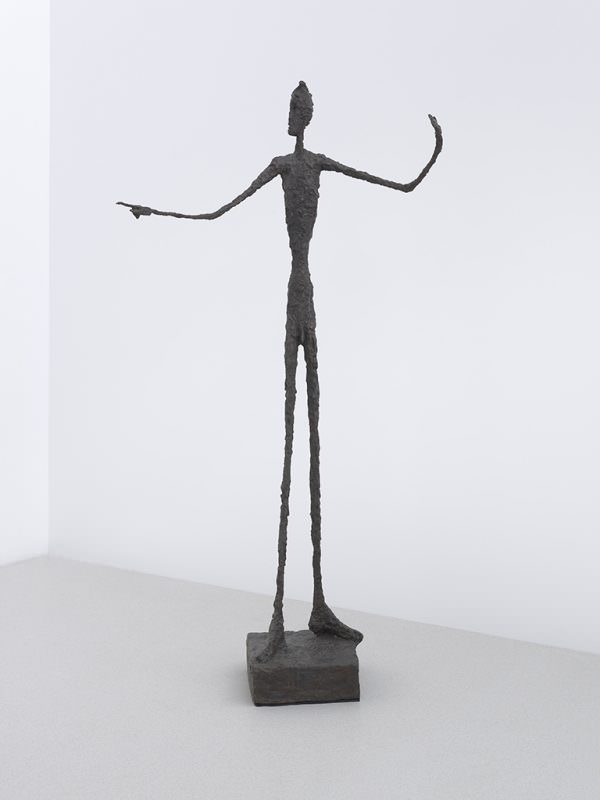 Homem Apontando; Alberto Giacometti