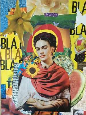 Astronauta de Mármore - Frida Kahlo Tu Nombre