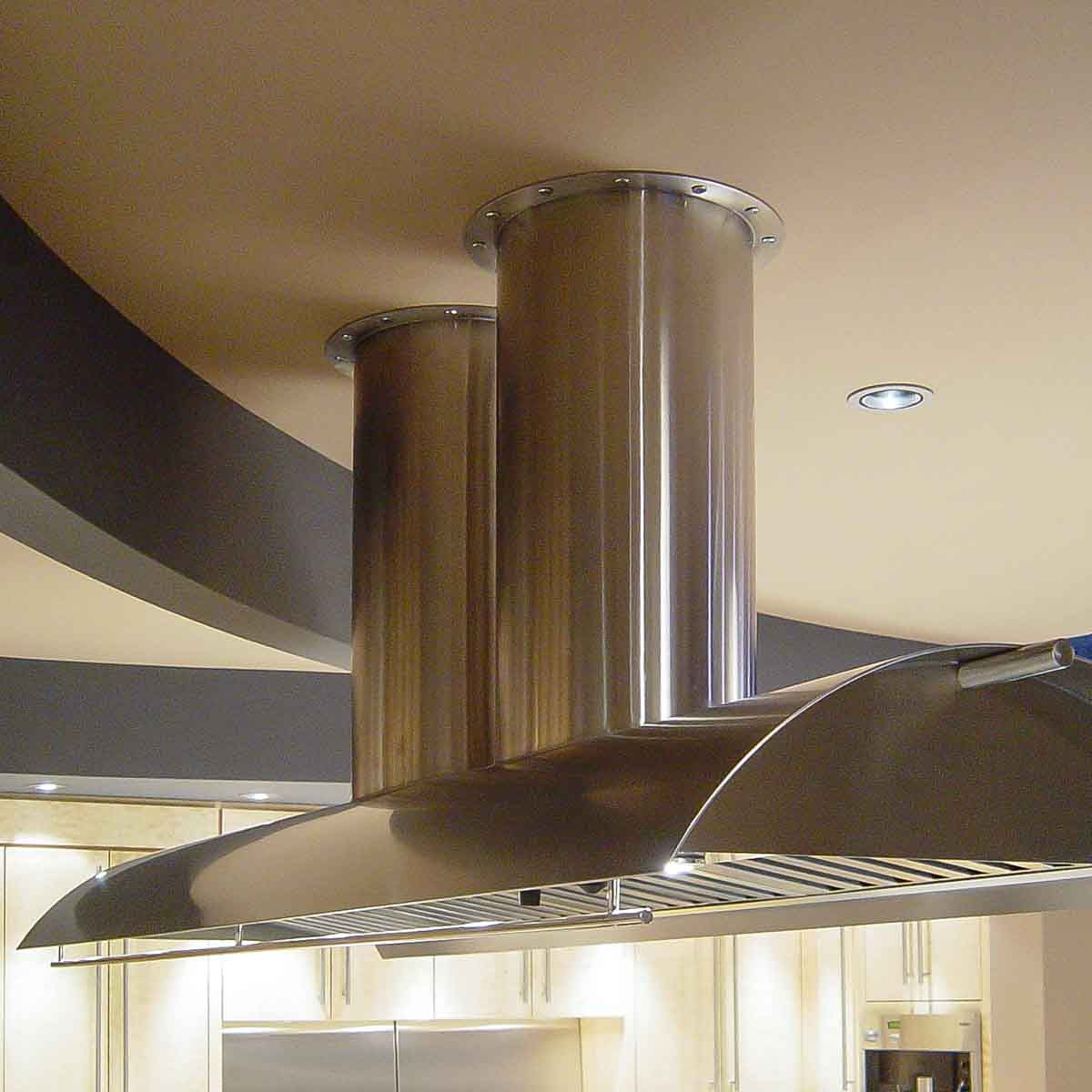 Vent Hood Prior to Retrofit