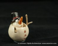 Bjella Snowman Ornament - Day 9 - Cutesy-20