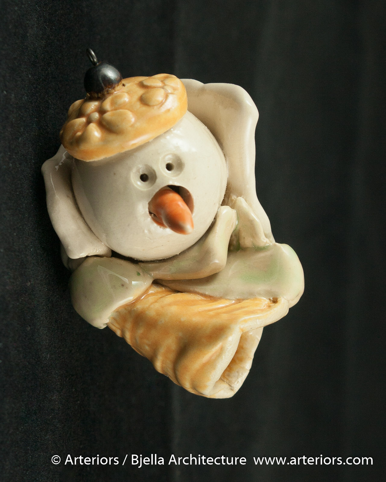 Bjella Snowman Ornament - Day 9 - Cutesy-35