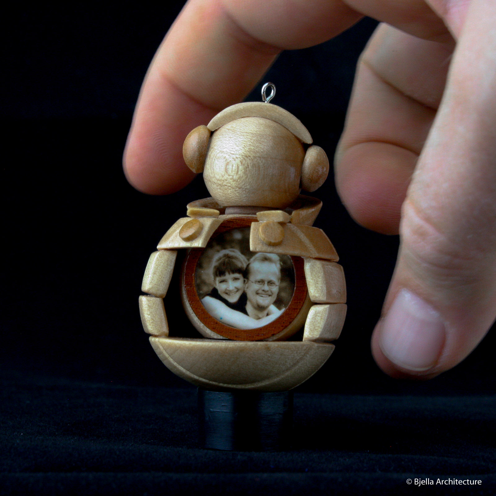 Snowman Ornament Locket by Tim Bjella-9