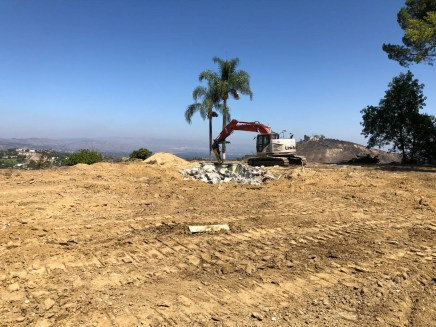 Modern Los Angeles House Construction - Sitework-1
