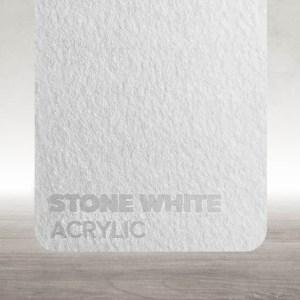 Acrílico Branco Pedra Flux Lasers