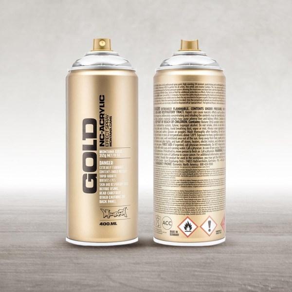 Montana Cans Gold Metalizados