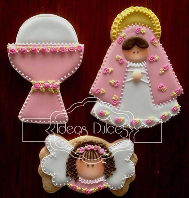 Lembranças de Batizado: Biscoitos Decorados