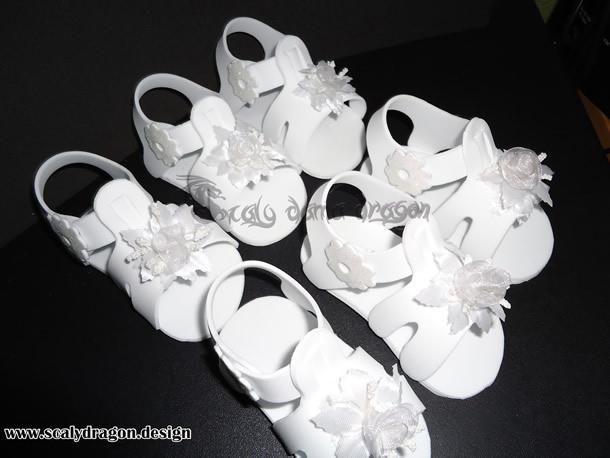 Lembranças de Batizado: Sandálias em EVA