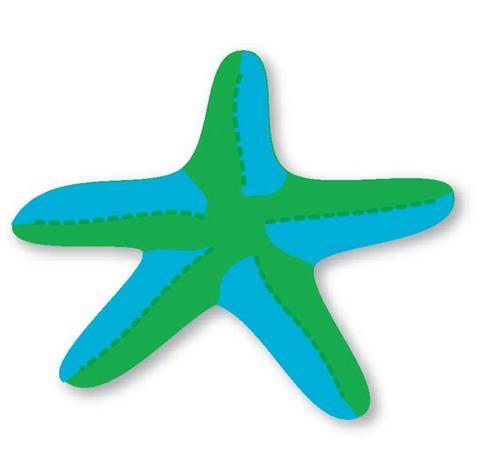 Molde de estrela do mar