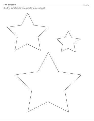 moldes eva tres estrelas