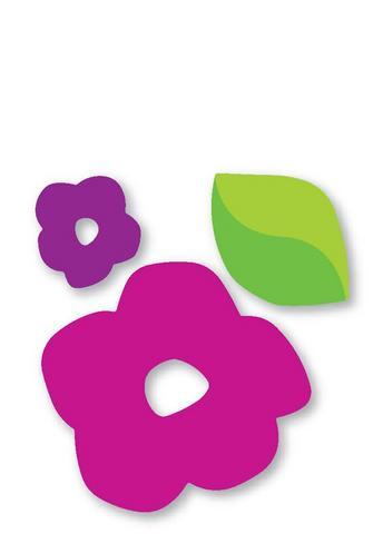 moldes eva flor e folha
