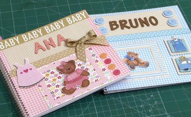 artesanato-para-bebe-album
