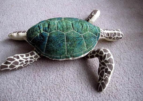 molde-almofada-tartaruga-marinha