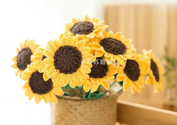 flores-de-croche-girassol