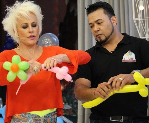 Decoracao com baloes com Rogério Fugii