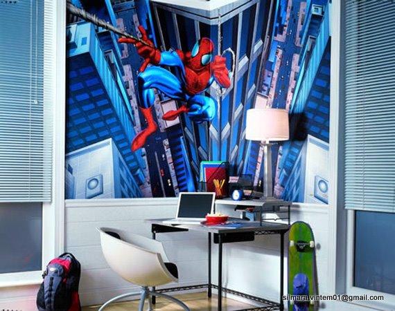 Quarto do Homem aranha decorado