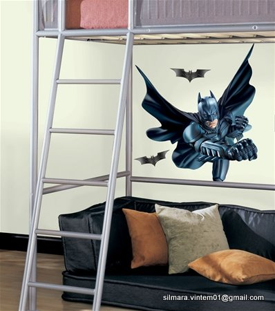 Quarto decorado batman
