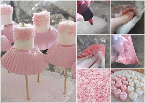 decoracao-com-marshmallow-bailarina