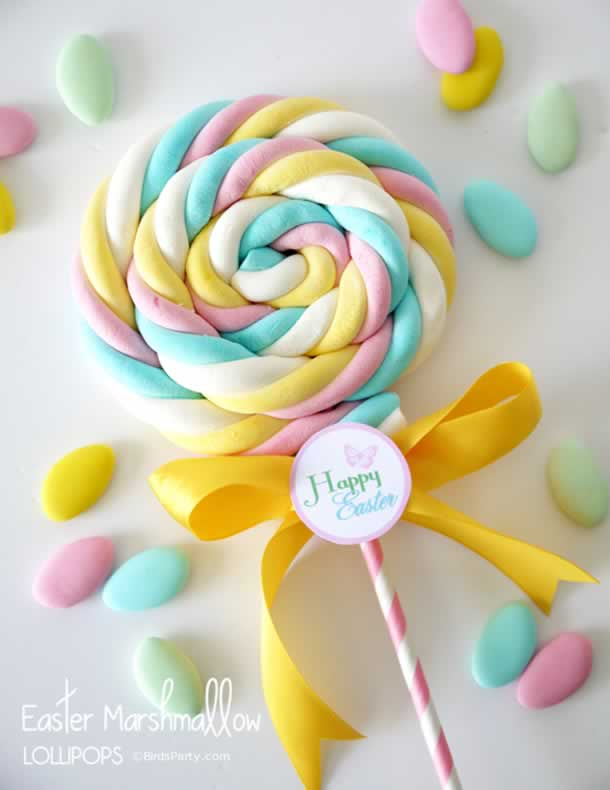 decoracao-com-marshmallow-pirulito