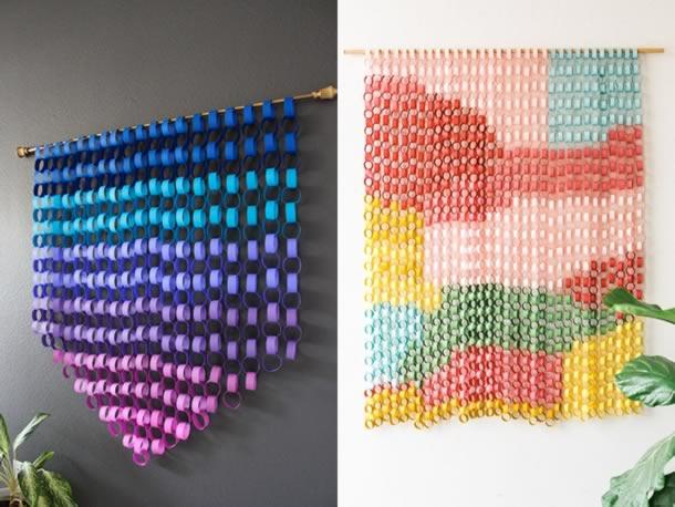 decoracao-de-parede-com-papel-argolas