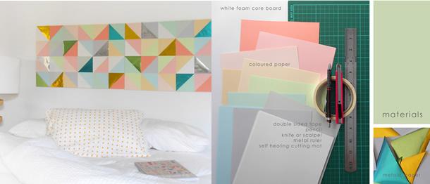 decoracao-de-parede-com-papel-colorido