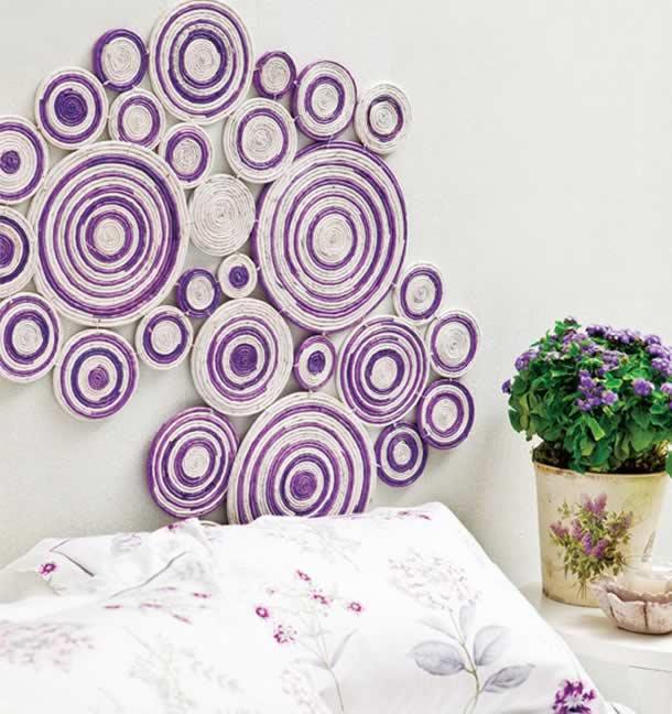 decoracao-de-parede-com-papel-jornal