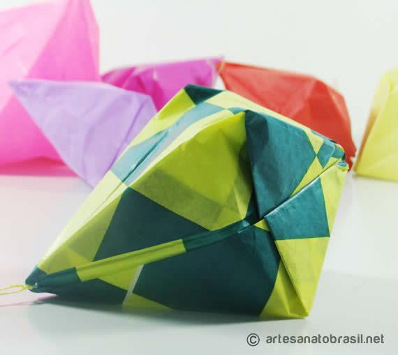 Como fazer Balão de festa junina