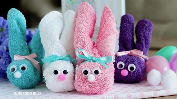 coelho-de-toalha-coloridos